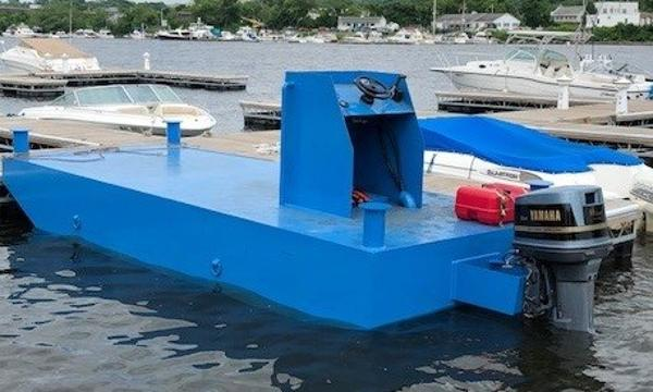 Commercial 20 x 8 Steel Work Barge