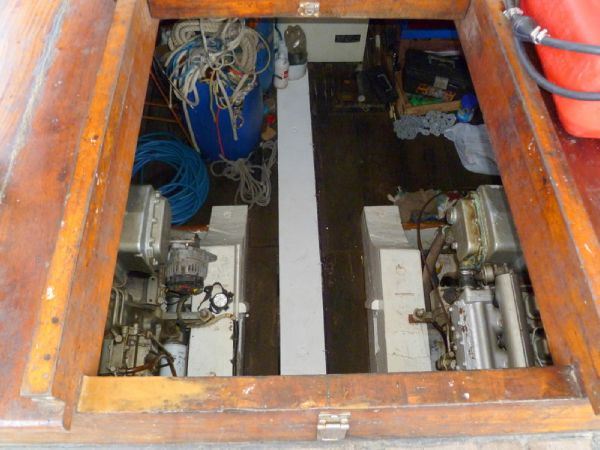 Engine Room Entry