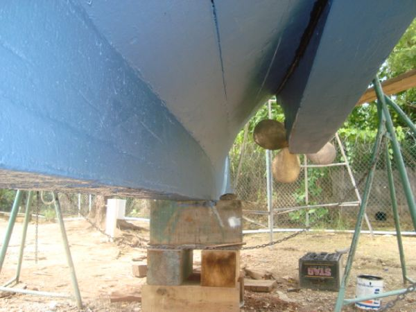 Keel Looking Aft