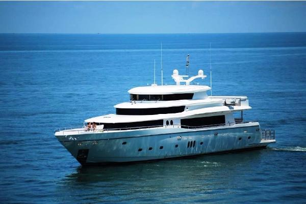 Johnson 108 ft Yacht  Johnson 108