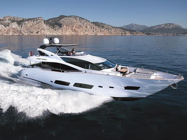 Sunseeker 28 Metre Yacht HIGH ENERGY