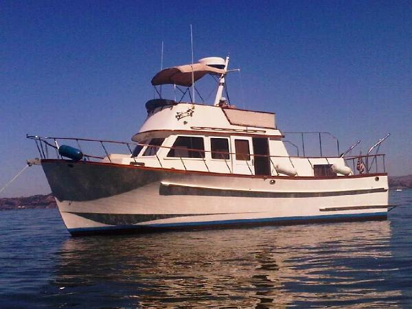 Monk 36 Twin Cabin Trawler APRIL DREAM