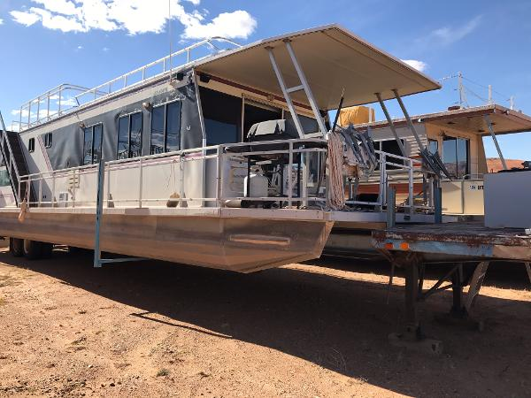 Myacht Custom 55x15 Houseboat