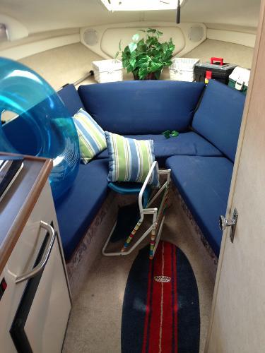 Forward Seating / Sleeping Area