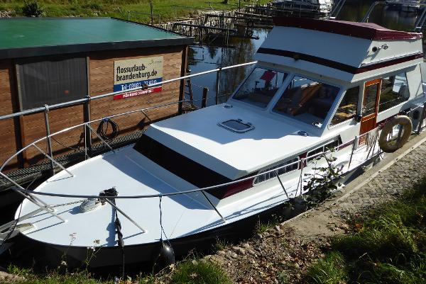 Custom Stahl Motoryacht Typ Nordsee
