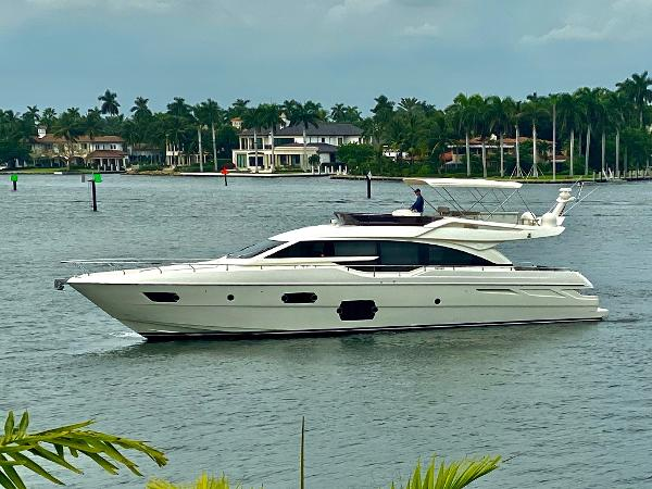 Ferretti Yachts 690 2013 Ferretti 690 Rally Round The Family - Profile