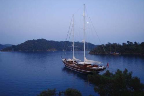 Custom Build Gulet 43 m Iroko on Mahogany Gulet - at anchor