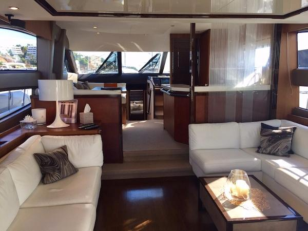 Princess 64 Main Deck Saloon