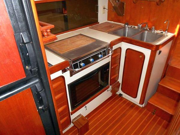 Another view of the galley