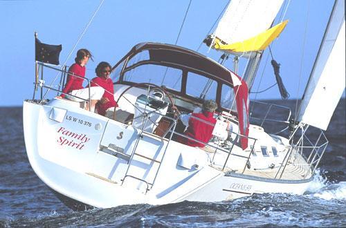 Beneteau Oceanis Clipper 393 Manufacturer Provided Image: Aft