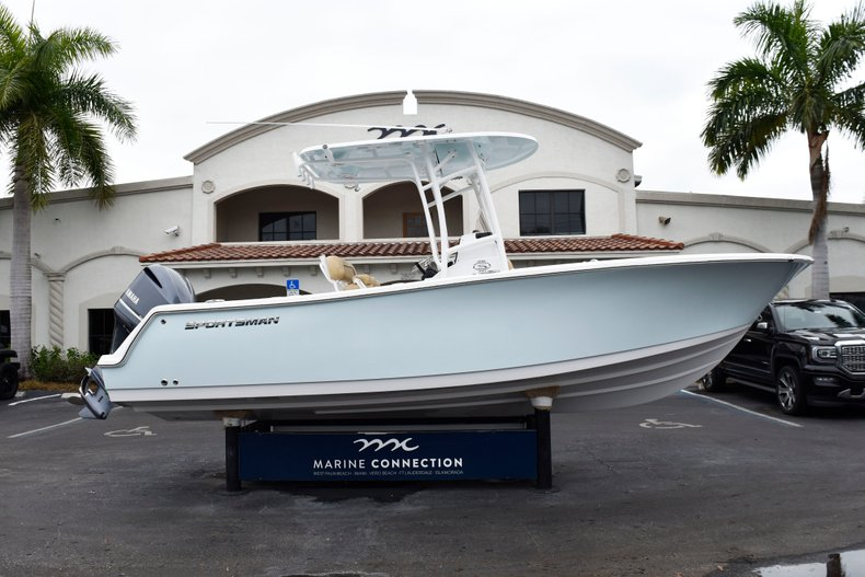 Sportsman Open 232 Center Console