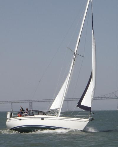 Catalina 34 MkII Charlotte on the SF Bay