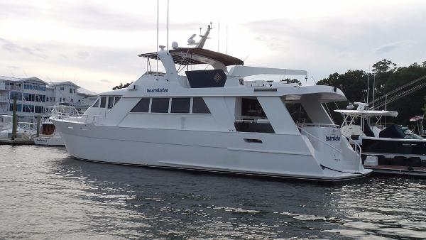 Custom Carolina Motor Yacht Profile