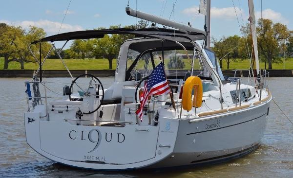 Beneteau Oceanis 35 Transom at Anchorage
