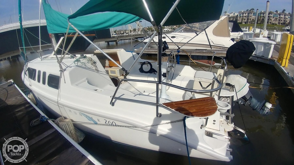 Hunter 260 2001 Hunter 260 for sale in League City, TX
