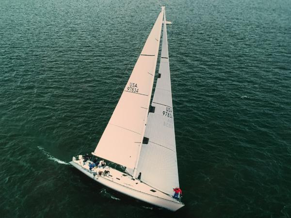 Schock 55 Under sail