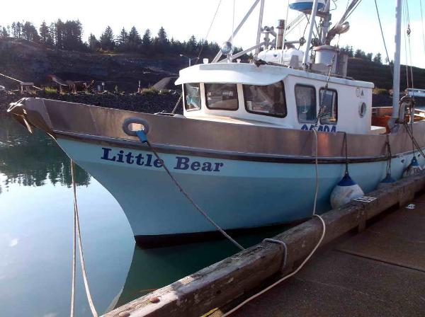 Alaska Fishing Crab Boat