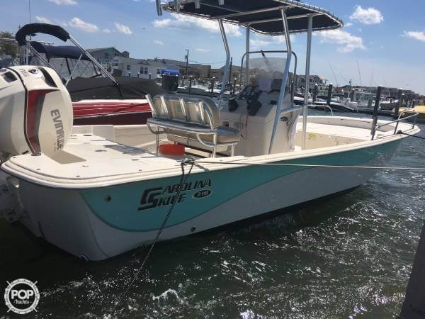 Carolina Skiff 218 DLV 2016 Carolina Skiff 21 for sale in Northfield, NJ
