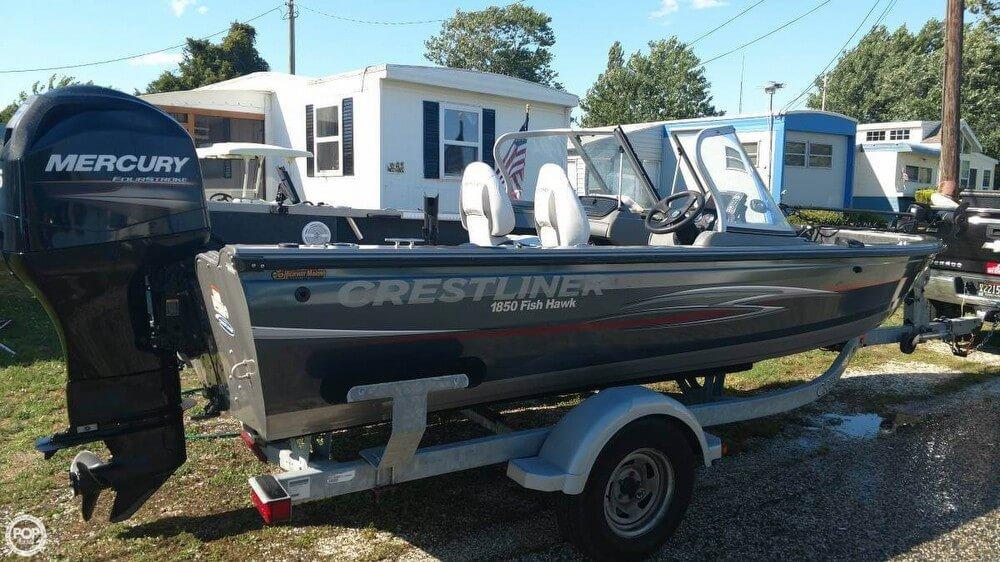 Crestliner 1850 Fish Hawk 2013 Crestliner 18 for sale in Fortescue, NJ