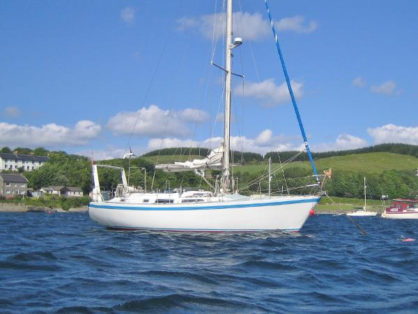 Crossbow 40 Cutter Rigged Sloop