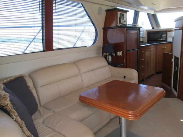 Salon Port from Aft Facing Forward