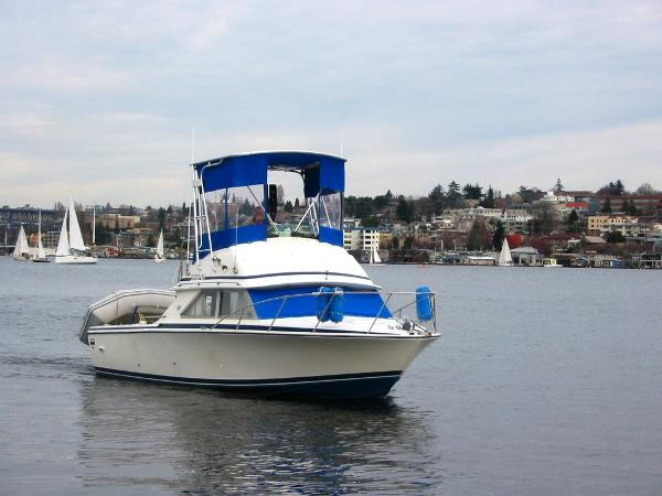Bertram 28 Flybridge CRUISER Cruising