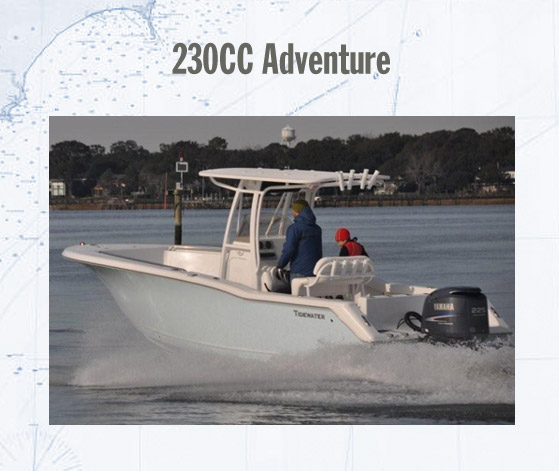 TIDEWATER BOATS 230CC Adventure