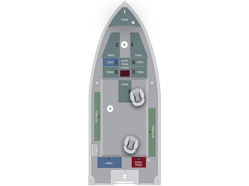 Alumacraft Voyageur 175 Tiller