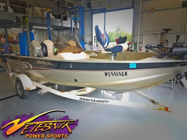 Alumacraft Navigator 165CS