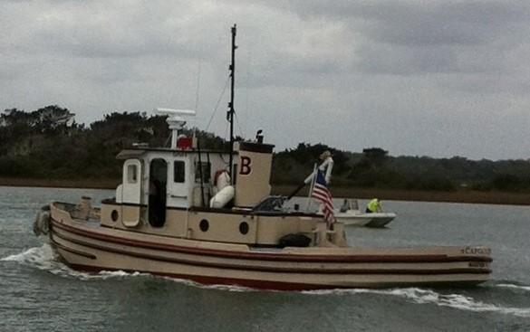 Custom Tug Army X ST 548