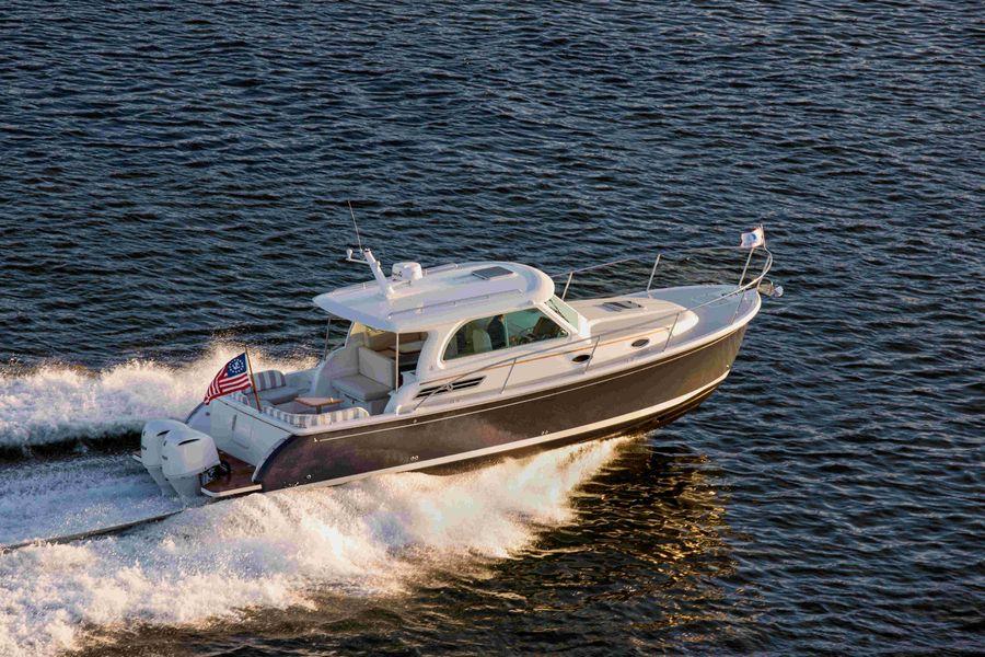 Back Cove Boat
