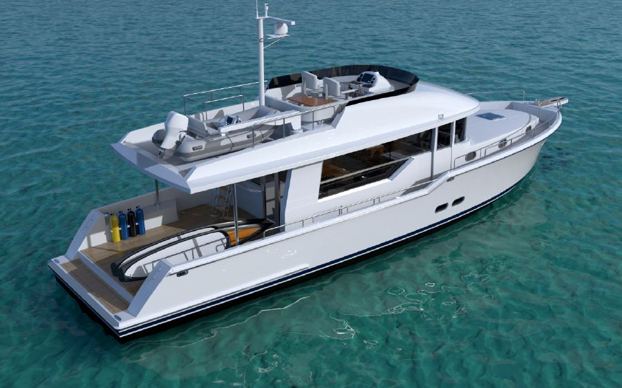 Outback Yachts Boat