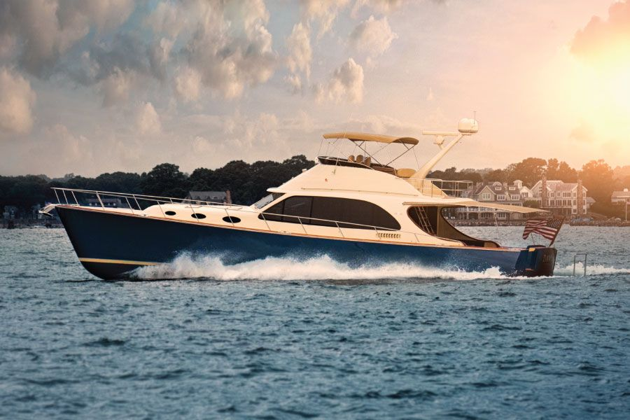 Palm Beach Motor Yachts Boat