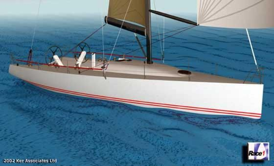 Race1 Ker 50: Designed for the Admiral's Cup