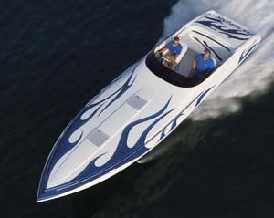 Nordic 35 Flame: Powerboat magazine Performance Report