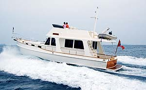 Grand Banks Heritage 44 EU: Sea Trial
