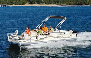 Voyager Super Center Console: Fishing Pontoon Review