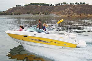 Chaparral 246 SSi Test
