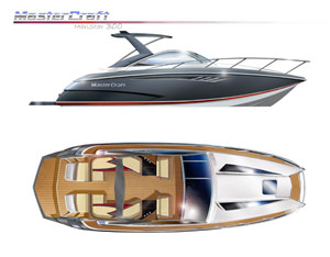 MasterCraft 300 to Debut at Miami Boat Show