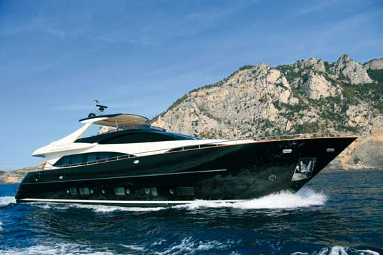 Riva 92 Duchessa, Rich in Options
