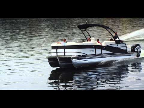 Harris FloteBote Grand Mariner SL 250: Video Boat Review