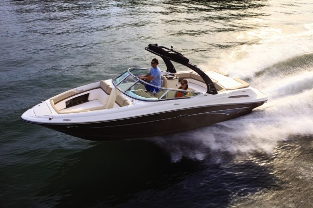 Hear the Hush: Sea Ray 250 SLX With Quiet Ride Technology