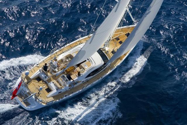 Oyster 625: Pedigree Under Sail