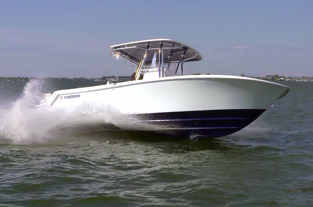 Contender 28 Sport: Video Boat Review