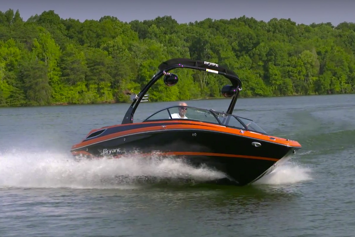 Bryant 233X Surf Edition Video Boat Review