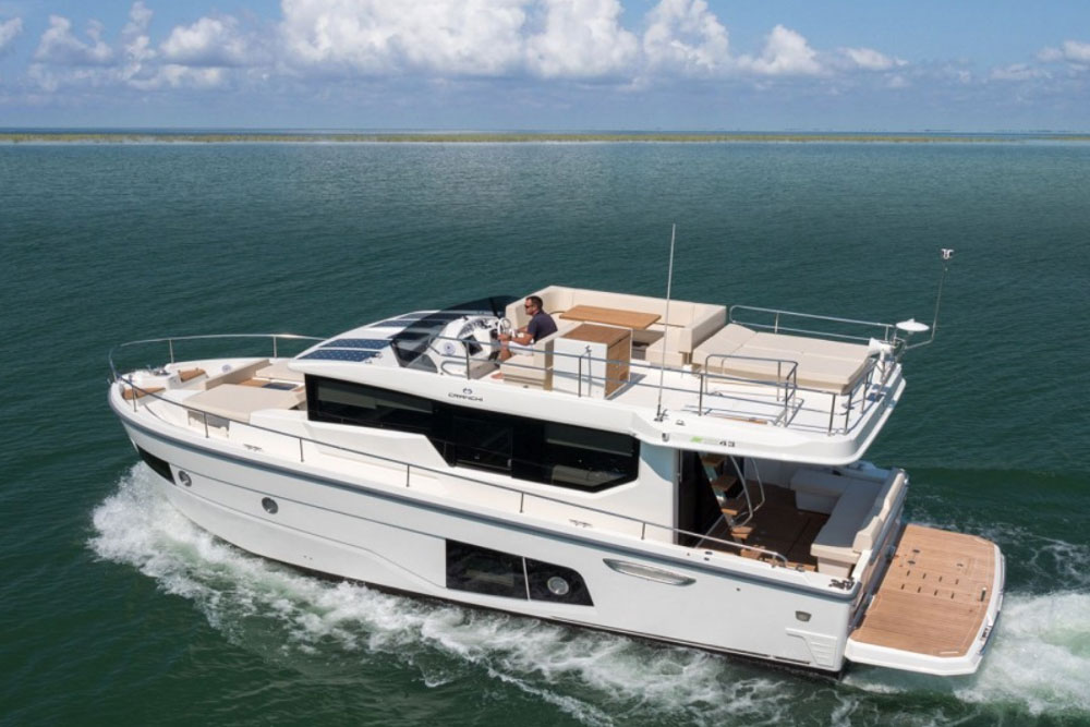 Cranchi Eco Trawler 43: First Look Video
