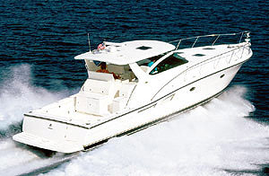 Tiara 5000 Open: Sea Trial