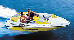 Sea-Doo Sportster 4-TEC: Performance Test