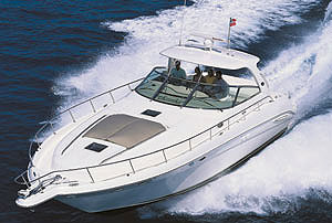 Sea Ray 460 Sundancer: Sea Trial