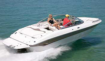 Crownline 210 LX: Performance Test